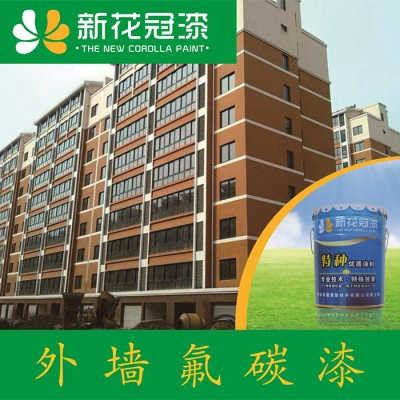 Exterior wall fluorocarbon paint Steel structure fluorocarbon topcoat Bridge fluorocarbon paint (A5170)